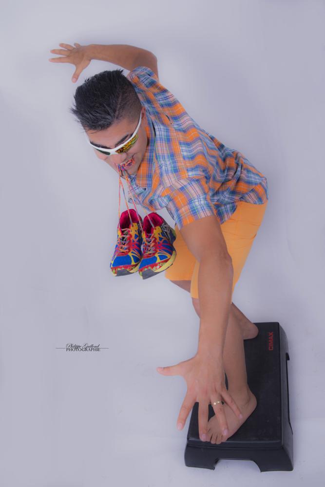 Photo in Celebrities #samir labidi #zumba #dance #photo #book