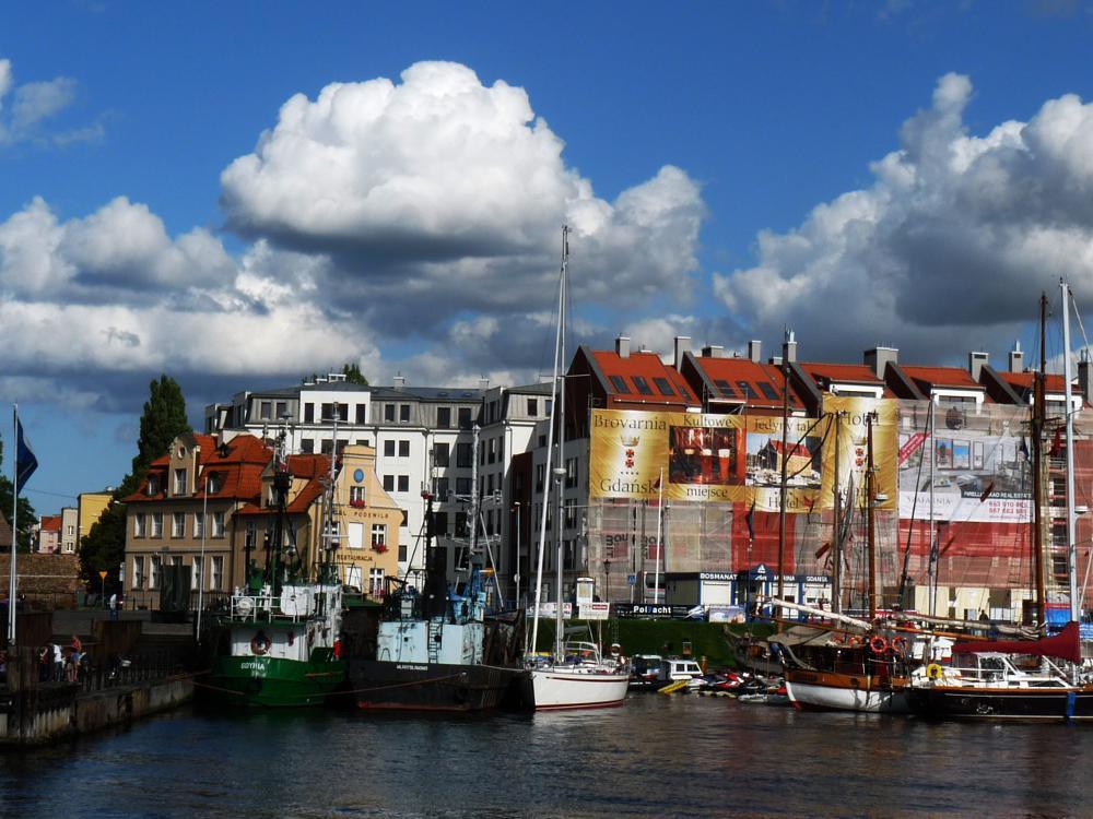 Photo in Cityscape #gdansk #pologne #travel #book #lyon