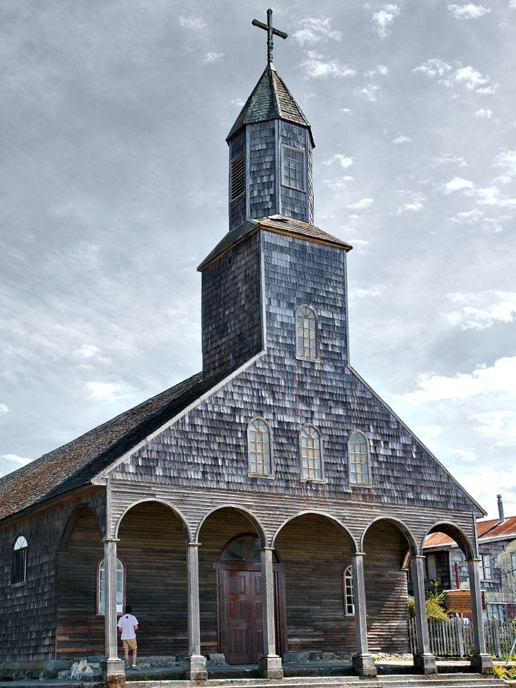 Photo in Random #chile #chiloé #church