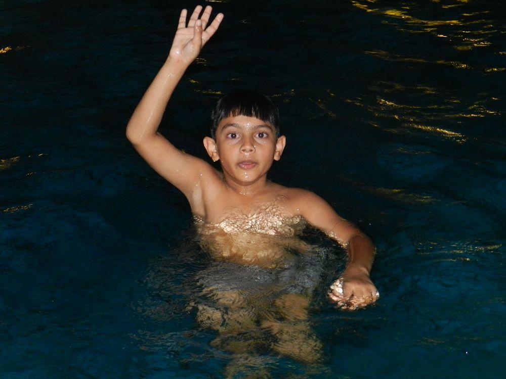 Photo in People #pool #swimming #singapore