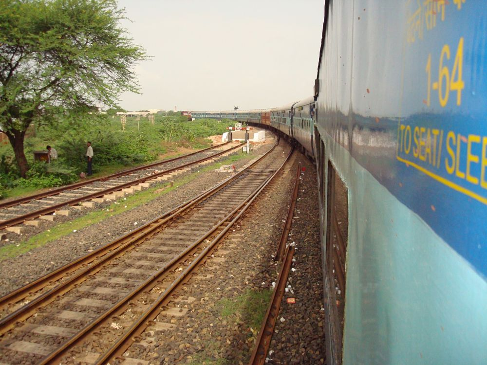 Photo in Vehicle #railway #india #tracks