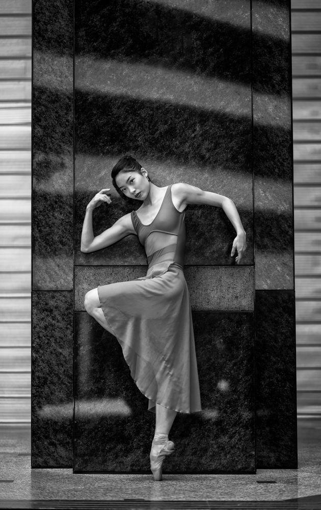 Photo in Black and White #ballet #ballerina #dance #dancer #portrait #black&white
