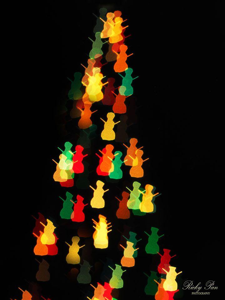 Photo in Random #snow man #holiday #light #chirstmas