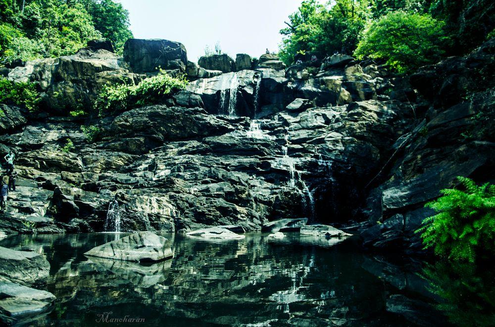 Photo in Nature #falls #reflection #trekking #water