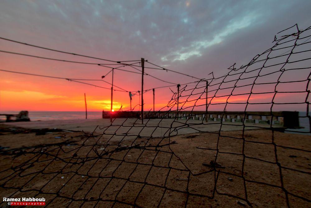 Photo in Abstract #gaza #sunset #sea #photo