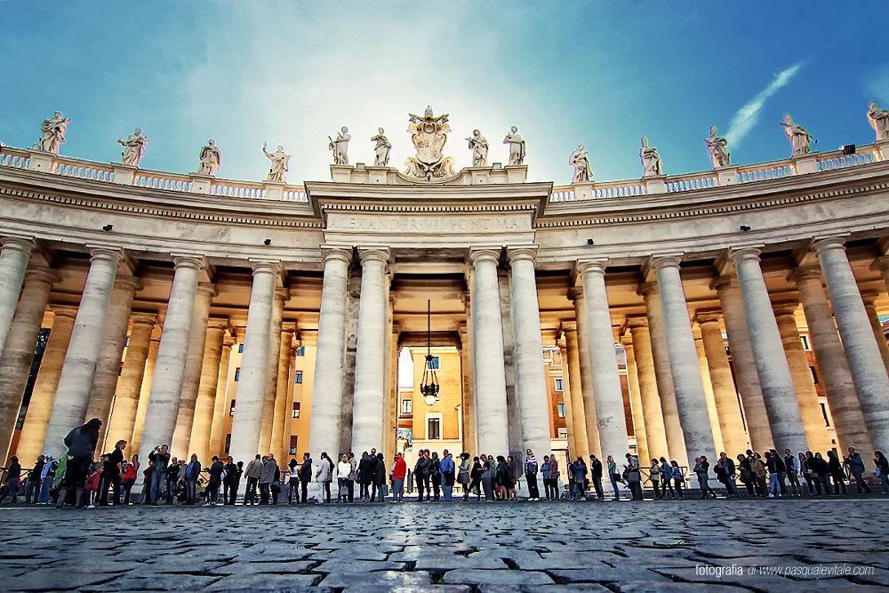 Photo in Architecture #vaticano #chiesa #basilica #stato del vaticano #pontificio #lazio #roma #regione lazio #turismo #papa francesco #papale #stato e chiesa #capitale