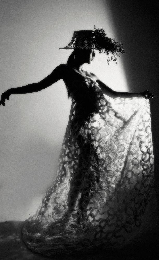 Photo in Fashion #fashion #b&w #portrait