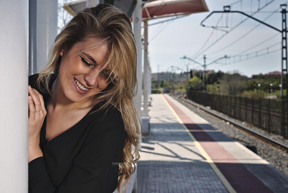 Photo in Portrait #portrait #woman #smile