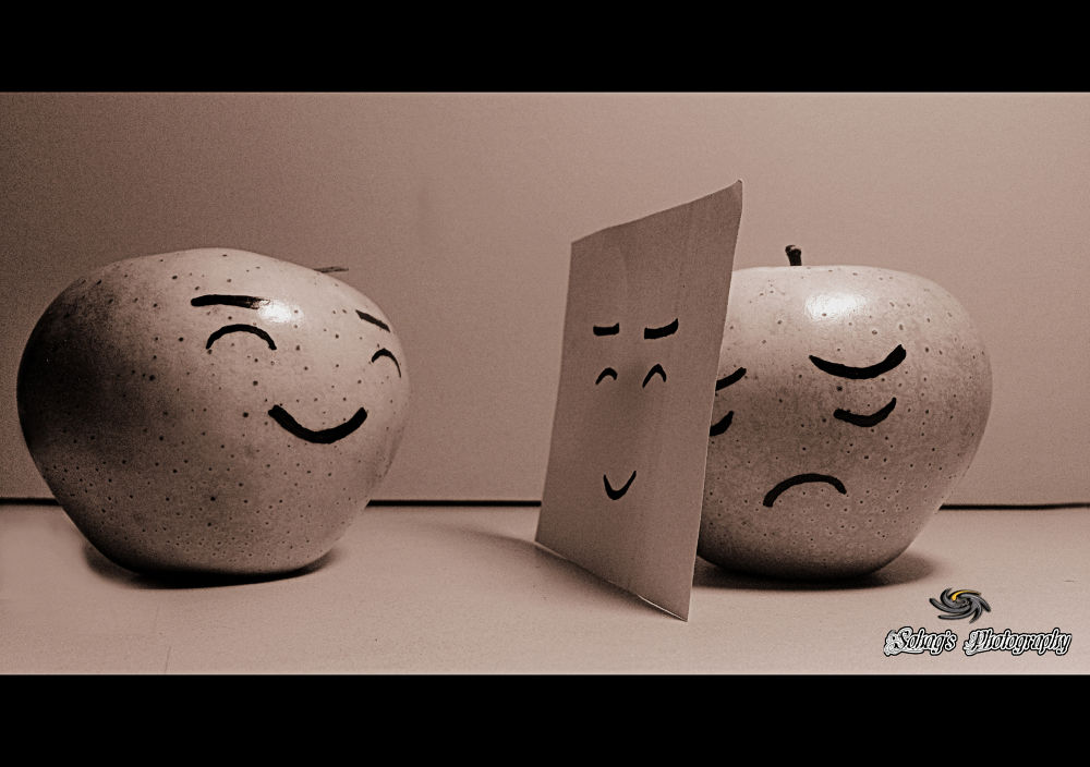 Photo in Random #conceptual photography #sad #smile