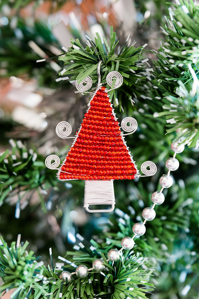 Photo in Random #xmas #tree #wire #christmas #ornament #handmade
