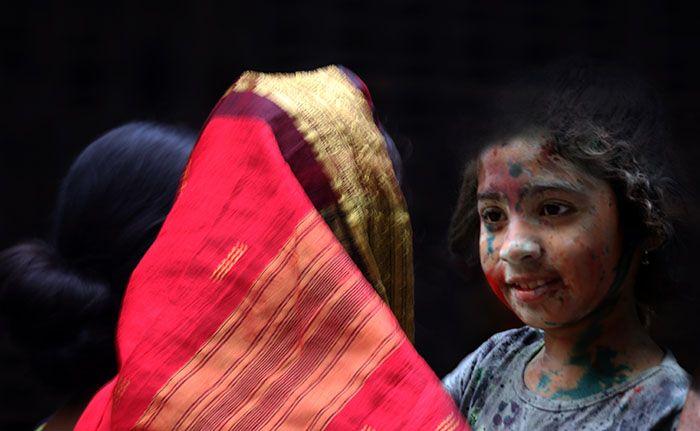 Photo in Portrait #portrait #bride #festival #bangladesh