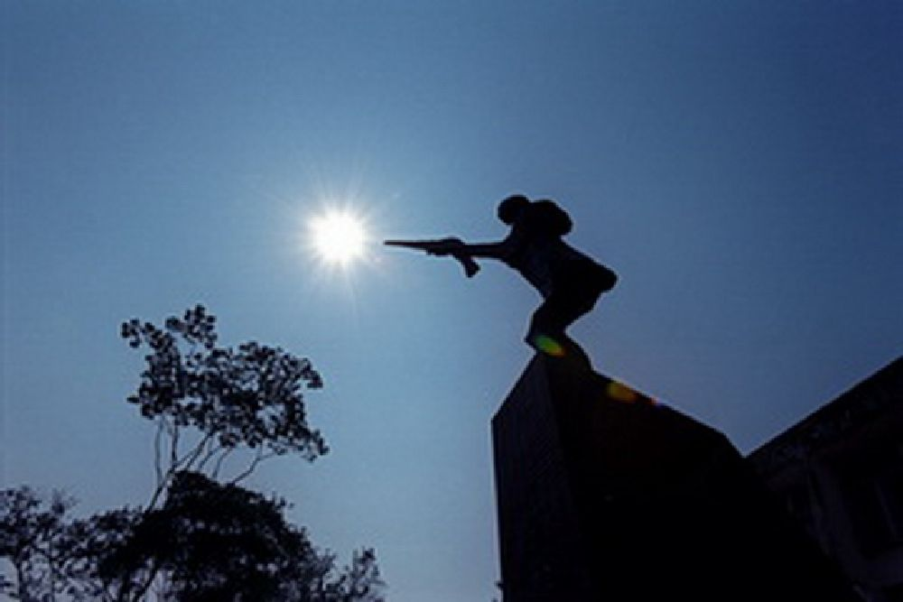 Photo in Fine Art #sculpture #monument #independence #bangladesh