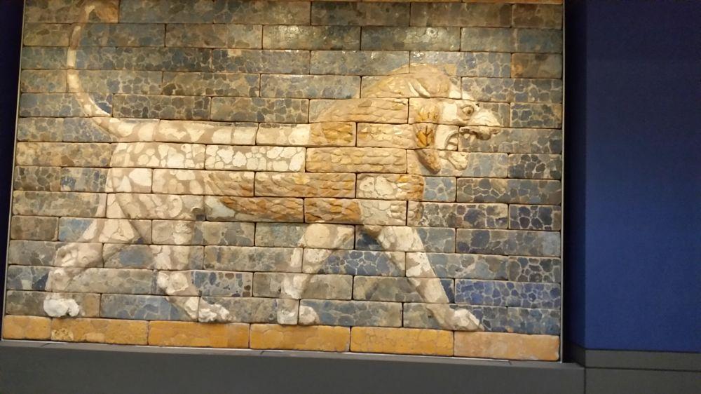 Photo in Random #british museum #lion #brick #reyhan luttman
