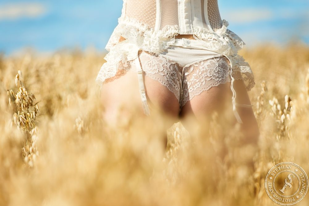 Photo in Nude #ass #butt #nude #naked #summer #booty #stephan strange #girl #sexy #weath #corn #cornfield #field #outdoor #dessous #boudoir #nature #female