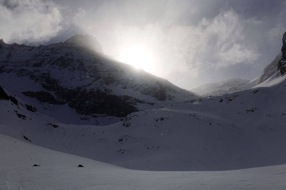 Photo in Nature #snow #falling #climb #mountains #alps