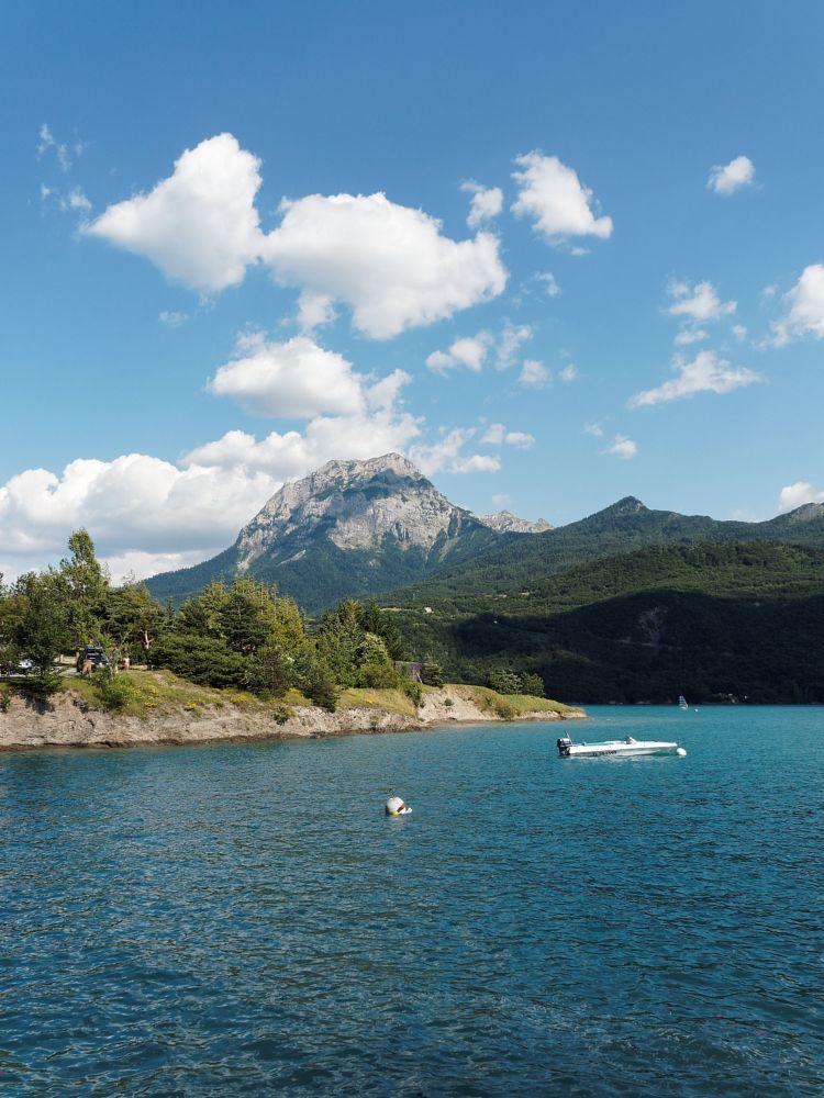 Photo in Landscape #lake #mountain #embrun #serre poncon