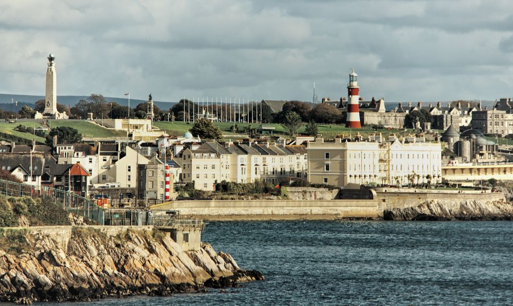 Photo in Landscape #plymouth #plymouth hoe #sir francis drake #harbour #harbor #spanish armada #devon