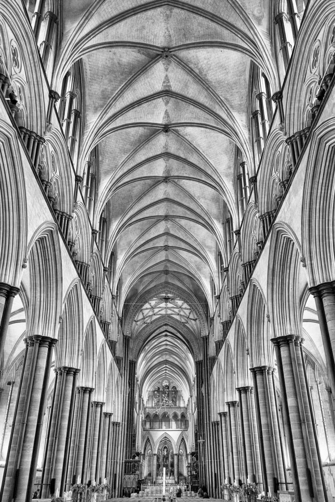 Photo in Black and White #building #stone #cathedral