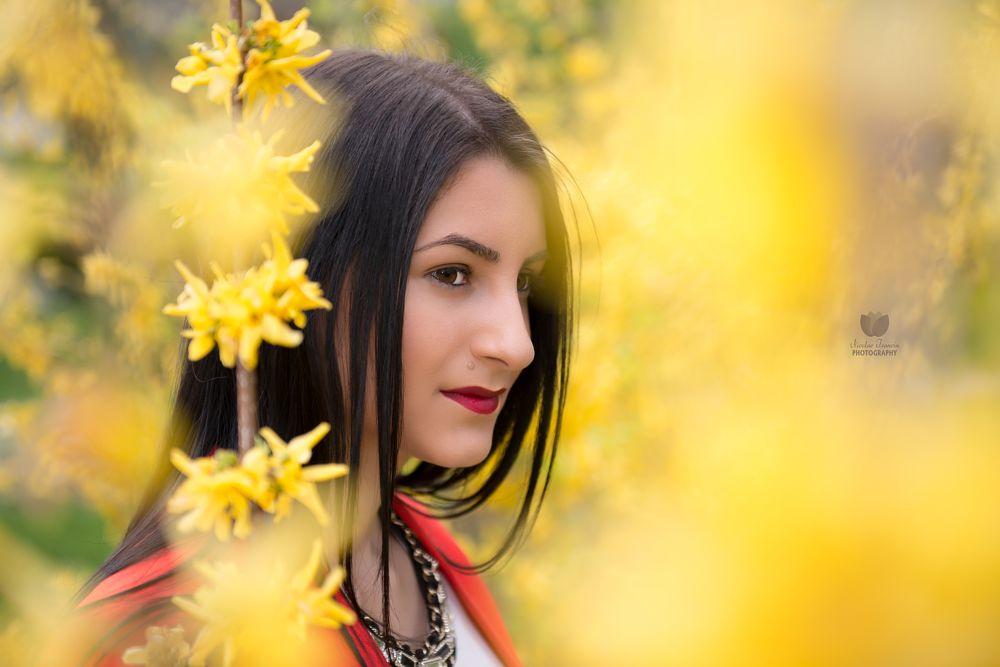 Photo in Portrait #girl #beauty #fashion #model #female #face
