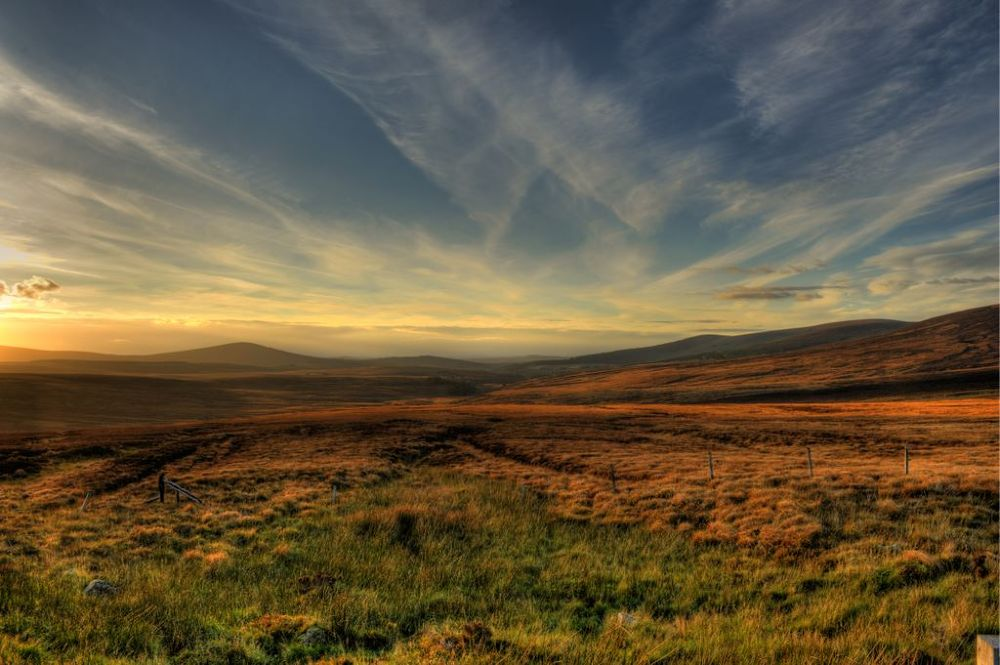 Photo in Landscape #sunset #montains #sky