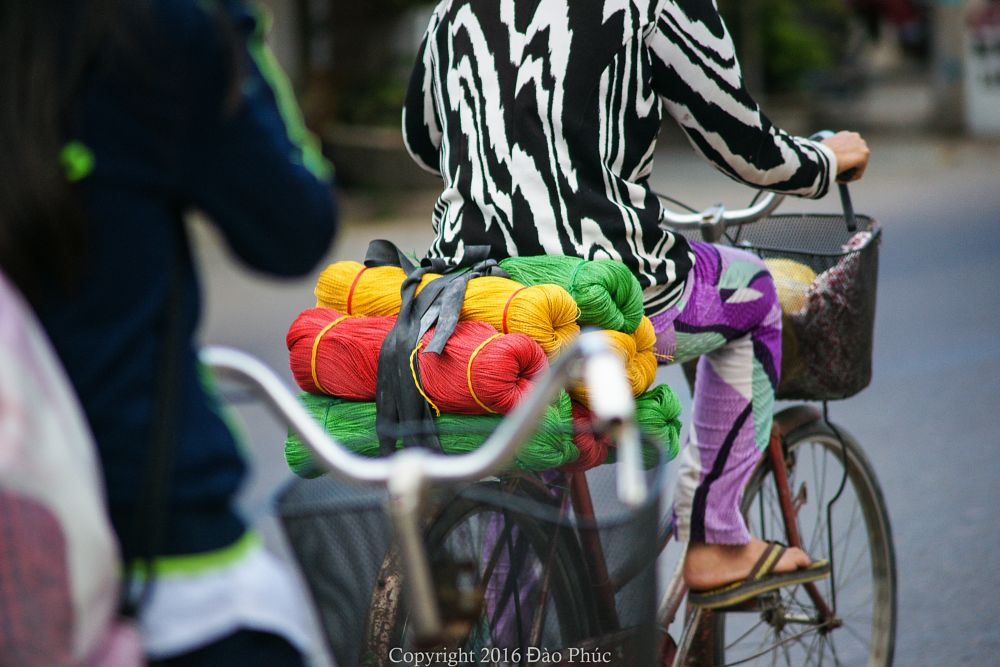 Photo in Street Photography #quy nhon #viet nam #life #street life #urban #colors #cycle #cycling