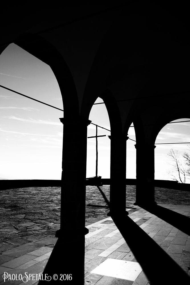 Photo in Black and White #b&w #la verna #crocione