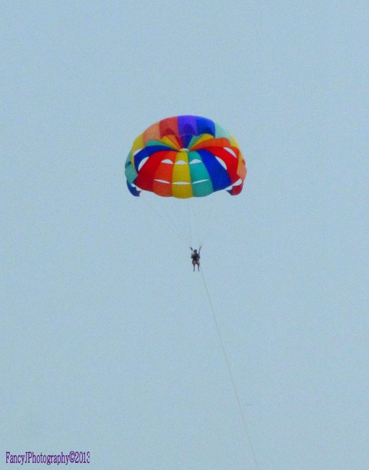 Photo in Travel #skydive #airflight #rainbow #colors #sky #fancyjlondon #people #sports