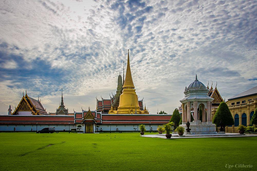 Photo in Architecture #bangkok #palazzo #reale #palazzo reale #phra nakhon #royal #palace #royal palace #thailandia