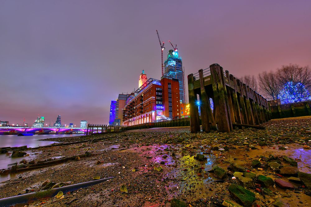 Photo in Random #hdr photography #london oxo tower #london southbank