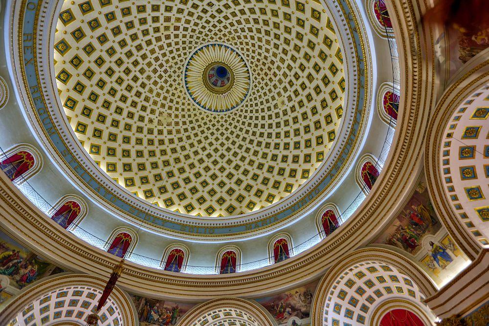 Photo in Cityscape #mosta temple malta #malta #hdr #hdr photography #architectural photography #wallgo