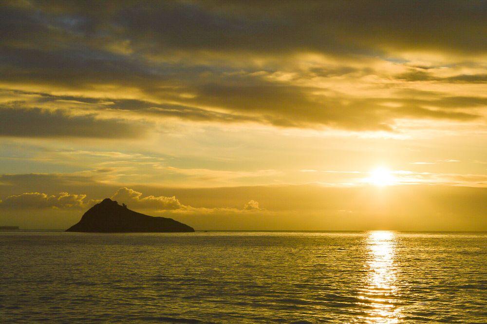 Photo in Sea and Sand #sunrise #sun #sea