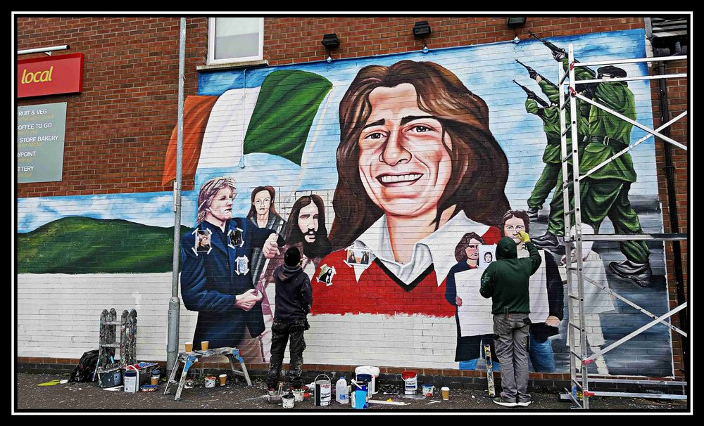 Photo in Cityscape #painting #martyrs #west_belfast