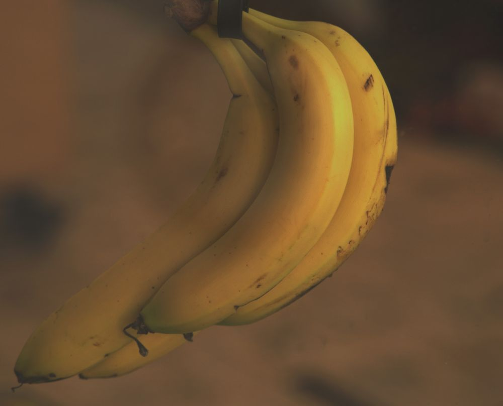 Photo in Random #bananas yellow