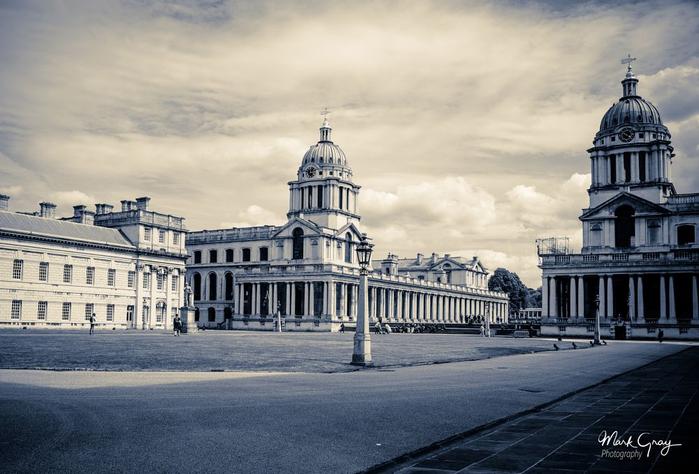 Photo in Cityscape #royal naval college #greenwich #mark gray