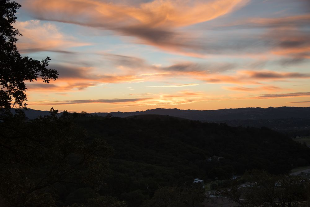 Photo in Landscape #sunset #california #wine country #hills
