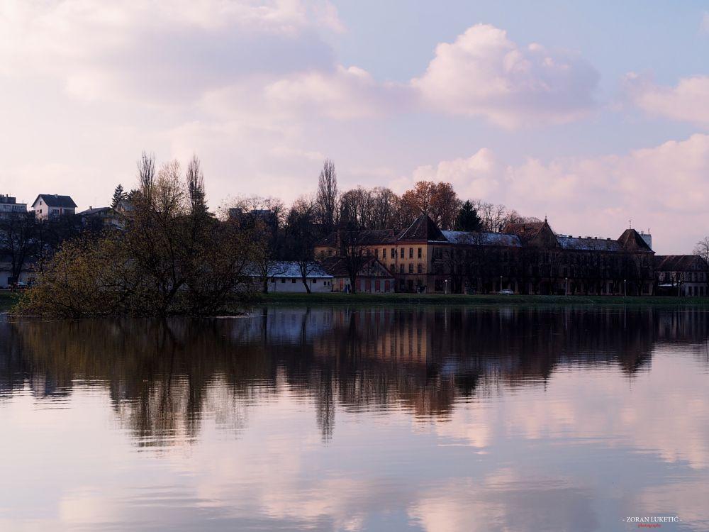 Photo in Cityscape #river kupa #cityscape #river #hrvatska #croatia