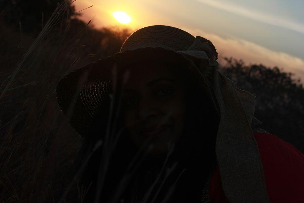 Photo in Portrait #sunset #portrait #silhouette #random #fine art