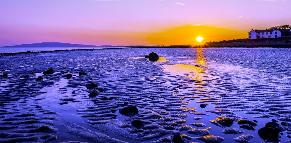 Photo in Landscape #solway firth #sunset #annan #newbie