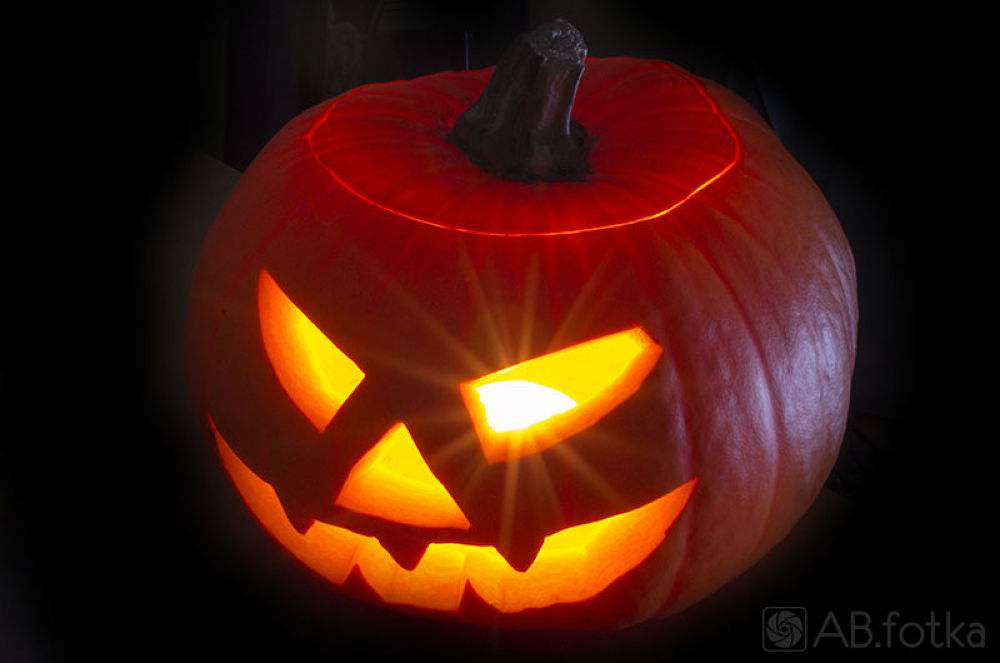 Photo in Random #scary #dark #halloween #pumpkin #dynia #lampion