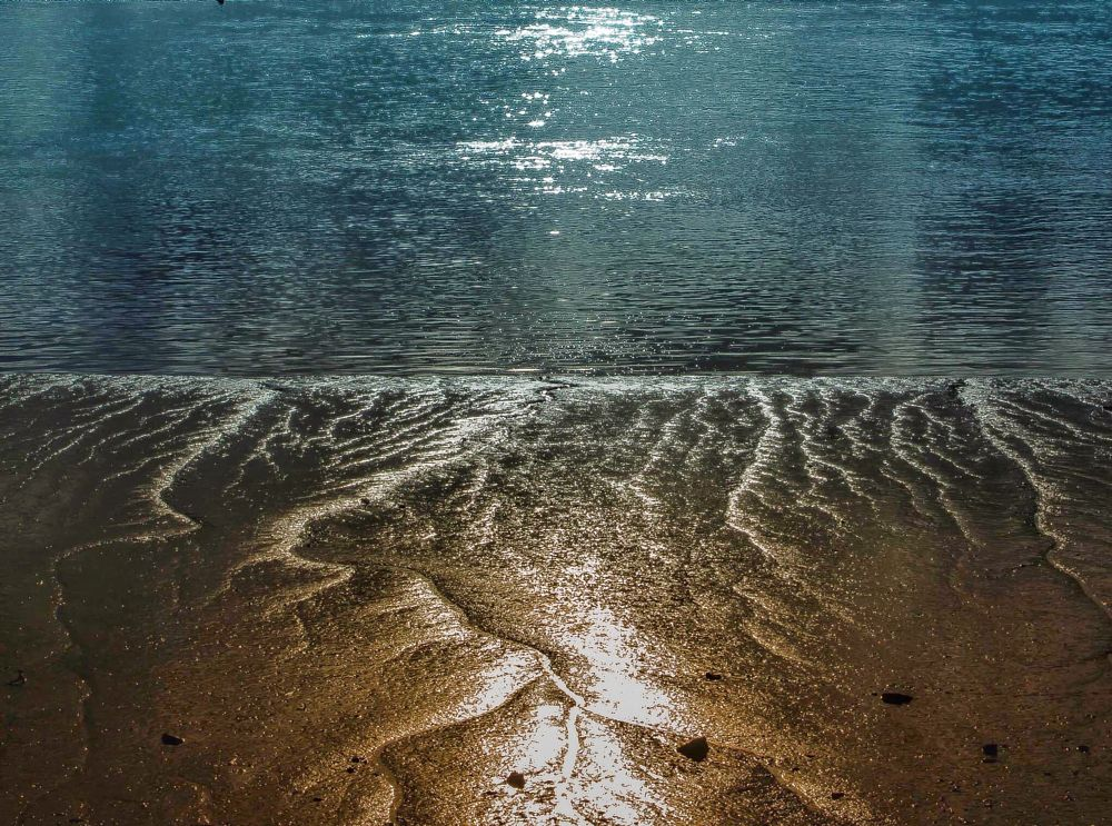 Photo in Abstract #sand #sea #patterns #abstract
