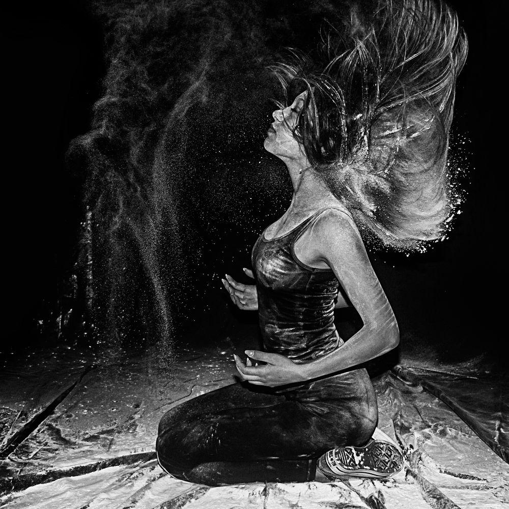 Photo in Black and White #monochrome #girl