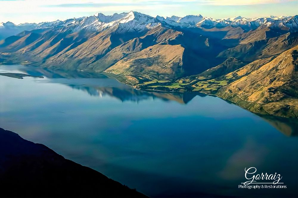 Photo in Landscape #lake #mountains #landscape #forest #nz #water #snow #new #zealand