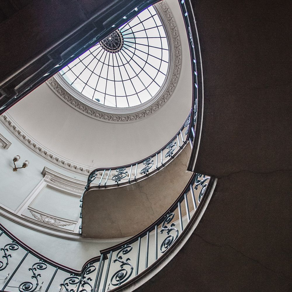 Photo in Interior #nelson stair #staircase #design #interior #stairs #somerset house #london