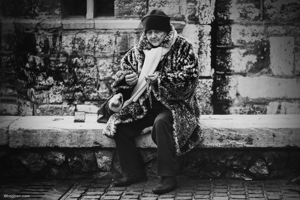Photo in Street Photography #portrait #street #street photography #black and white #monochrome #canon #60d #greece #athens #crisis #poverty #sell #fragipen #fragipen photography #jewelry