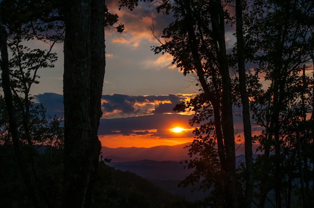 Photo in Landscape #autumn #mountains #sunset #sky