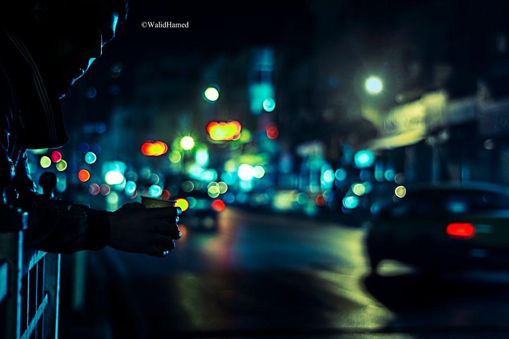 Photo in Street Photography #night #bokeh #shadow #lights