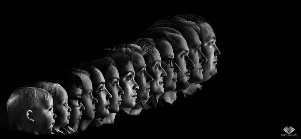 Photo in Portrait #family #13 #black #white #saaf #stacked #portrai