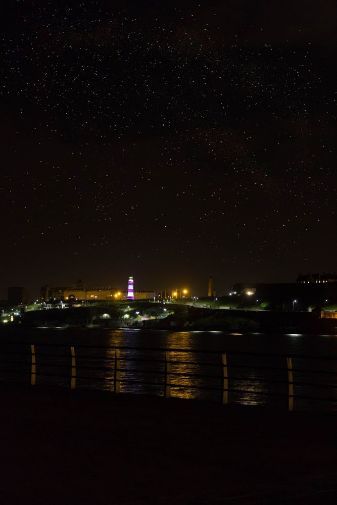 Photo in Landscape #plymouth #seafront #lighthouse #stars