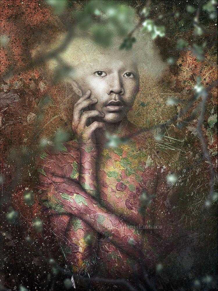 Photo in Fine Art #springcontest #digital art #art #photography #portrature #portrait #people #selfportrait