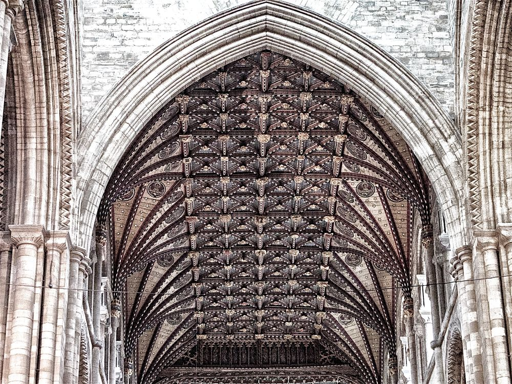 Photo in Architecture #arch #church #cieling
